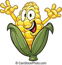 maïs, dessin animé