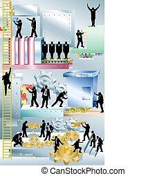 machine, illustration, concept, business