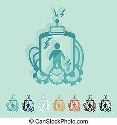 machine, plat, design:, temps