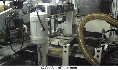 machine, presse, travail, impression, typographie