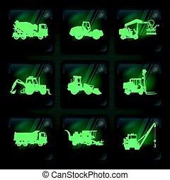 machinerie agricole, icônes