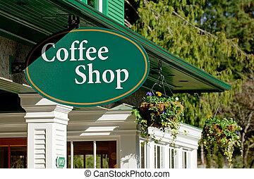 magasin, café