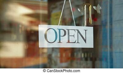 magasin, fermé