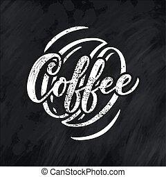 magasin, lettrage, café, graphique, style de vie, nom, restaurant, menu., typographie, logotype, conception, calligraphie, style., promotion.