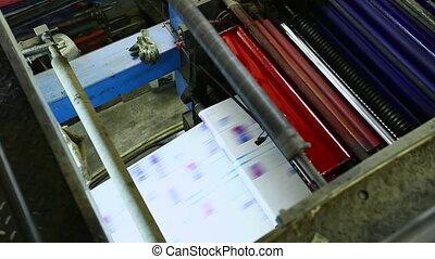 magasin, machine, dresser, détail, cmyk, couleurs, impression