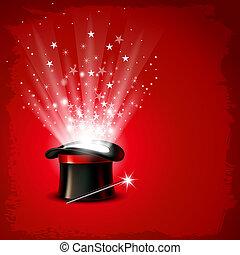 magie, chapeau