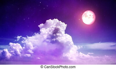 magie, ciel, nuit