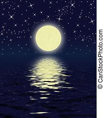 magie, nuit