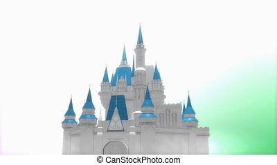 magique, fantasme, château