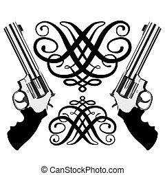 magnum, revolver