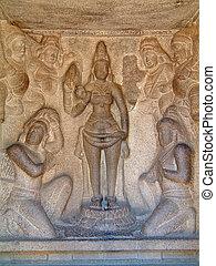 mahabalipuram, bass-relief, temple