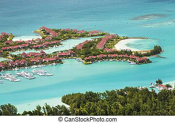 mahe, seychelles, éden, île
