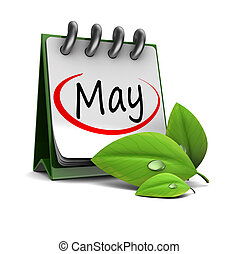 mai, calendrier