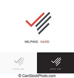 main, portion, logo