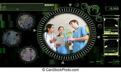 main, vidéos, choix, médecins
