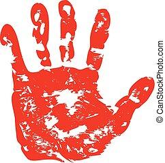 mains, caractères