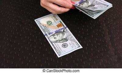mains, dénombrement, dollar