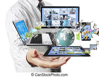 mains, technologie