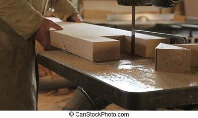 mains, travail, charpenterie