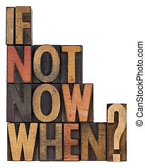 maintenant, question, -, quand, pas, si