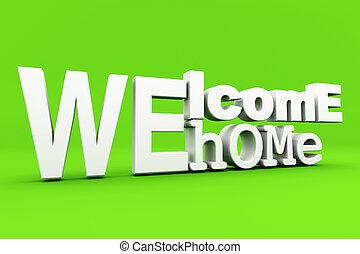 maison, accueil