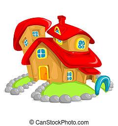 maison, argile