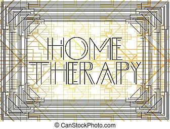 maison, art, text., deco, thérapie