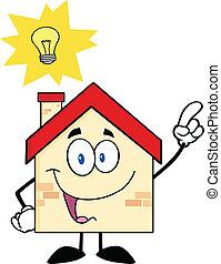 maison, bon, caractère, idée