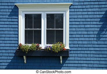maison, fenêtre