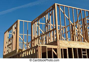 maison, histoire, construction, deux, sous