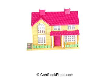 maison jouet, rose