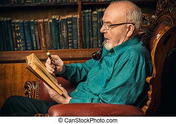 maison, lecture, memoirs