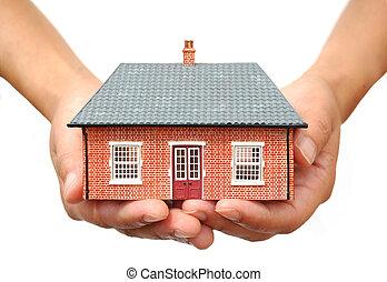 maison, mains