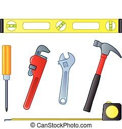 maison, outils, amélioration