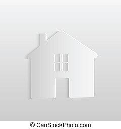 maison, papier