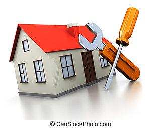maison, réparation