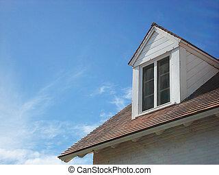 maison, toit