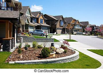 maisons, haut gamme