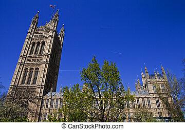 maisons, parlement, londres