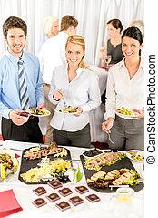 manger, professionnels, compagnie, restauration, réunion