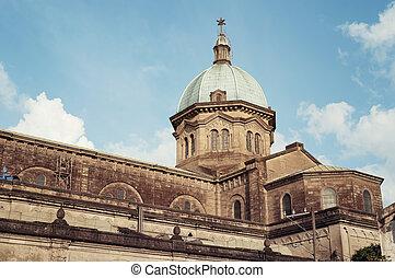manille, cathédrale, philippines
