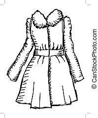 manteau, femmes
