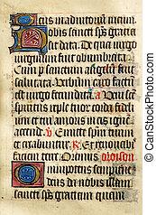 manuscrit éclairé