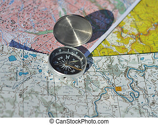 maps., compas