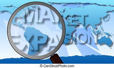 marché, global, expansion