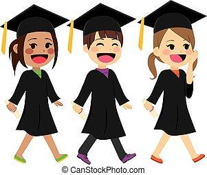 marche, gosses, remise de diplomes
