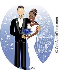 mariée, 2, palefrenier