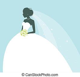 mariée, beauté