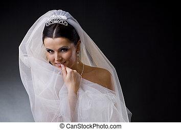 mariée, voile