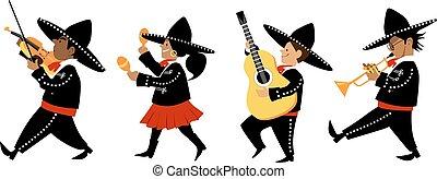 mariachi, bande